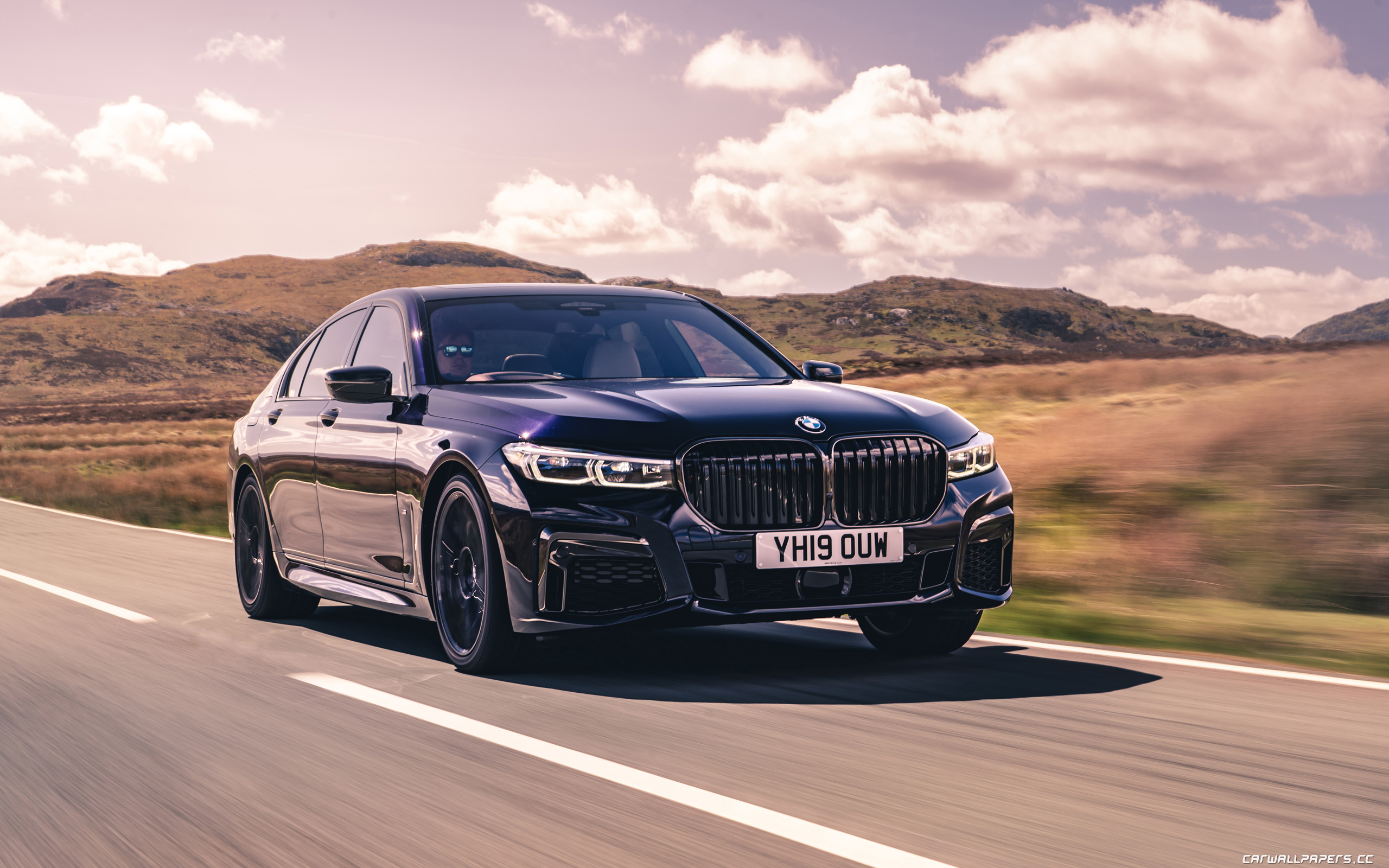 Cars desktop wallpapers BMW 750i xDrive M Sport UK-spec - 2019