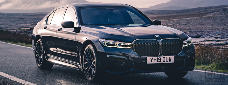 Cars wallpapers BMW 750i xDrive M Sport UK-spec - 2019 - Car wallpapers