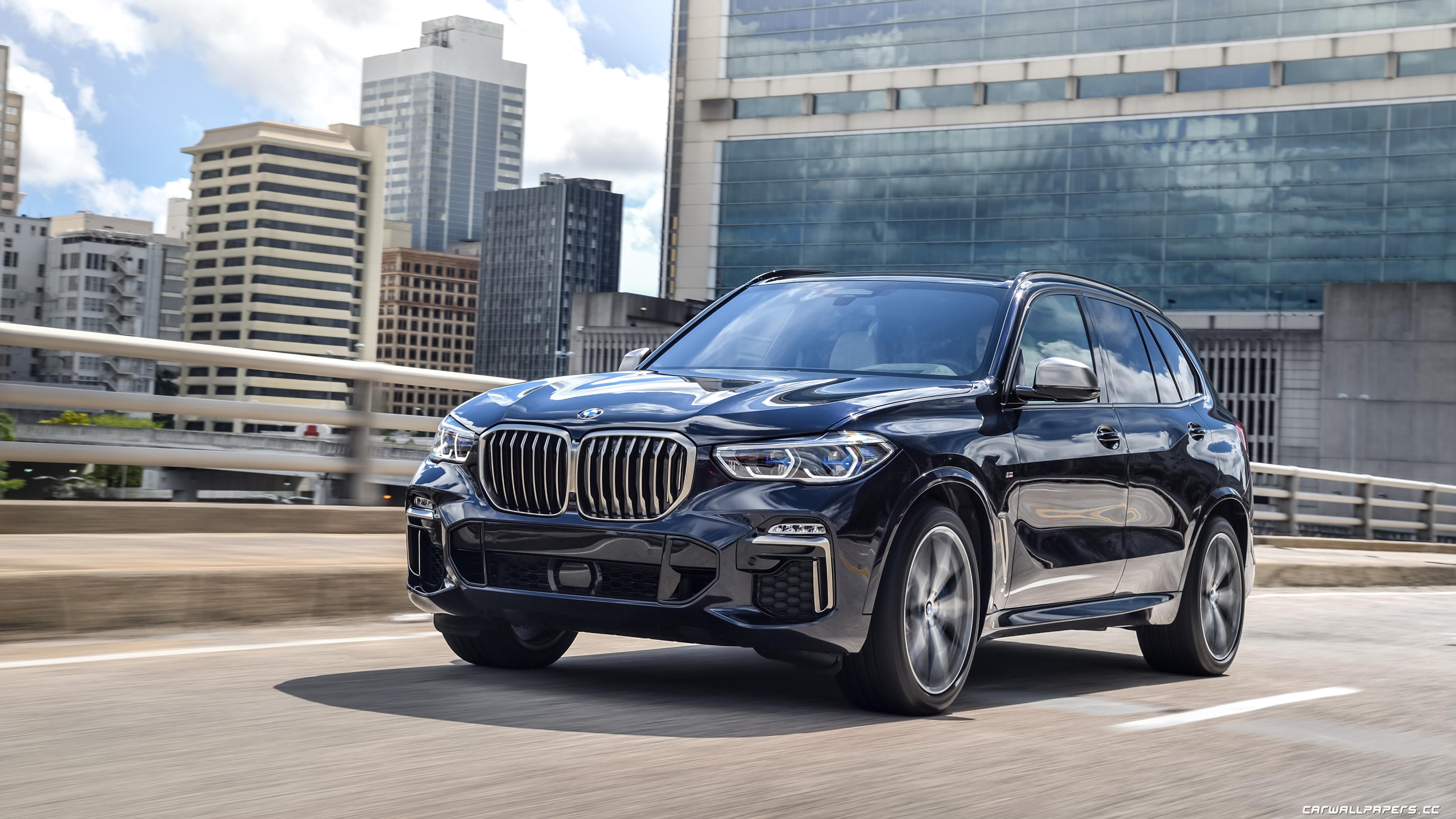 Cars desktop wallpapers BMW X5 M50d US-spec - 2018