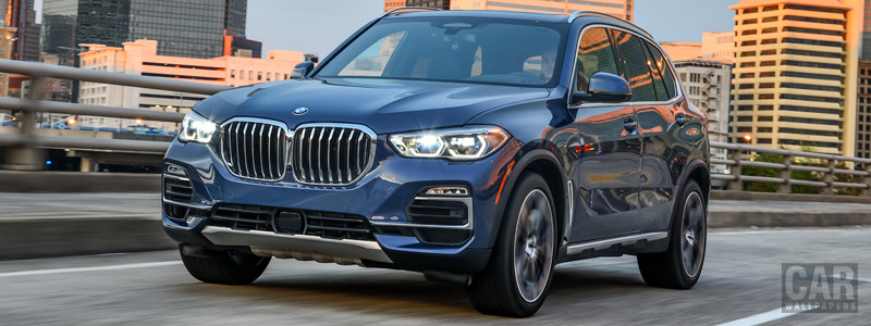 Cars wallpapers BMW X5 xDrive40i xLine US-spec - 2018 - Car wallpapers