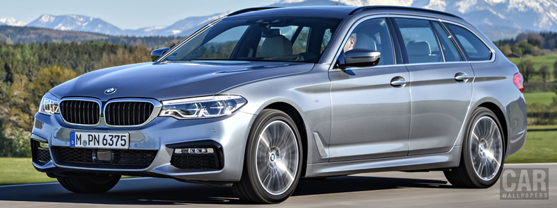 Cars wallpapers BMW 530d Touring M Sport - 2017 - Car wallpapers
