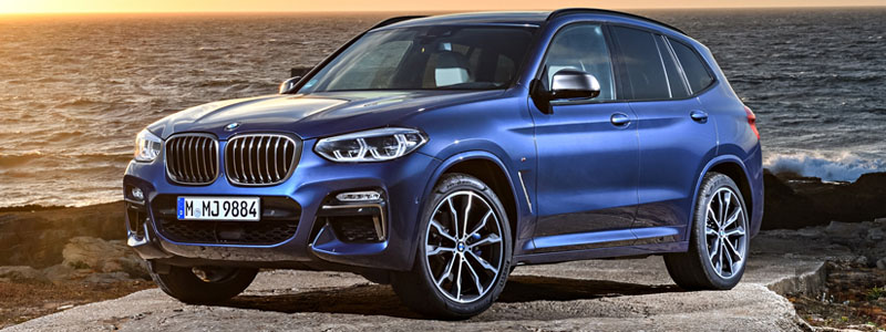 Cars wallpapers BMW X3 M40i - 2018 - Car wallpapers