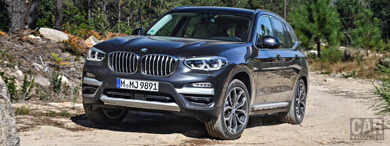 Cars wallpapers BMW X3 xDrive30d xLine - 2018 - Car wallpapers