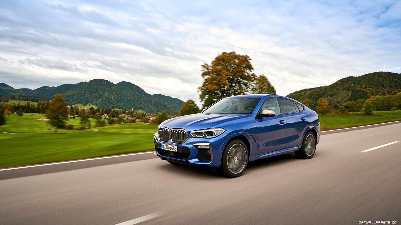 Cars desktop wallpapers BMW X6 M50i (MXG6485) - 2019