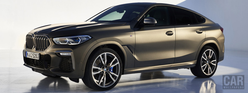 Cars desktop wallpapers BMW X6 M50i - 2019 - Car wallpapers